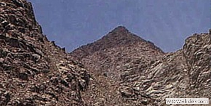 Mount Sinai in Arabia