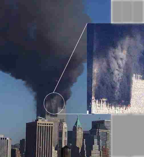 WTC Faces in Smoke  Snopescom